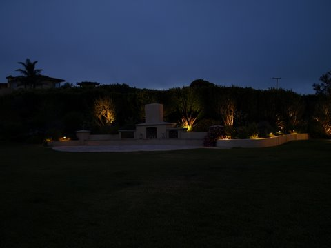 Dos Vientos Landscape Lighting Patio Area